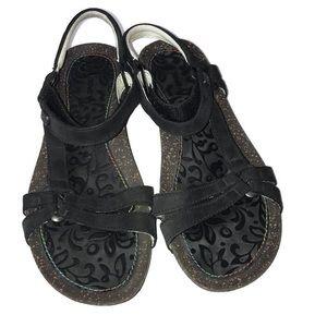 Teva Black Sandals Size 7.5